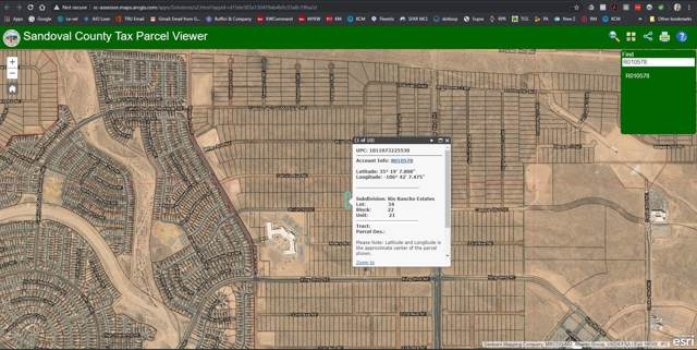 Lot 34 Shiloh Rd Ne, Rio Rancho, NM 87144 (MLS #958886) :: Campbell & Campbell Real Estate Services