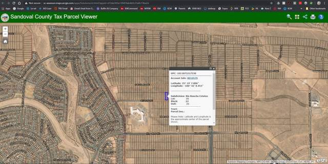 Lot 35 Shiloh Rd Ne, Rio Rancho, NM 87144 (MLS #958891) :: Campbell & Campbell Real Estate Services