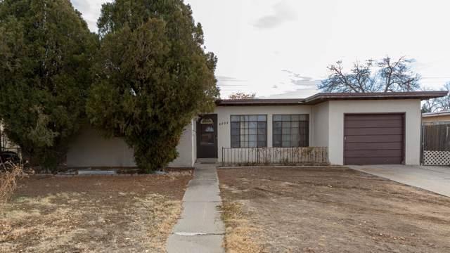 4808 Palo Duro Avenue NE, Albuquerque, NM 87110 (MLS #959305) :: Silesha & Company