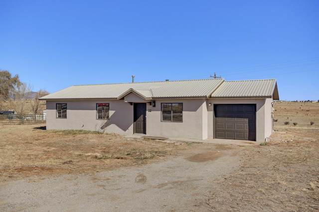 22 David Drive, Edgewood, NM 87015 (MLS #959344) :: Campbell & Campbell Real Estate Services