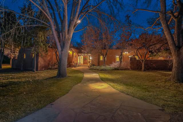 2030 Los Poblanos Place NW, Los Ranchos, NM 87107 (MLS #959606) :: The Buchman Group