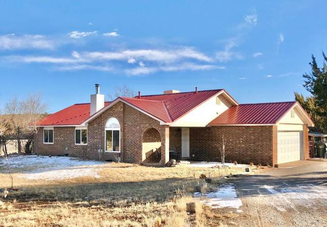 8 Appaloosa Lane, Edgewood, NM 87015 (MLS #959773) :: Campbell & Campbell Real Estate Services