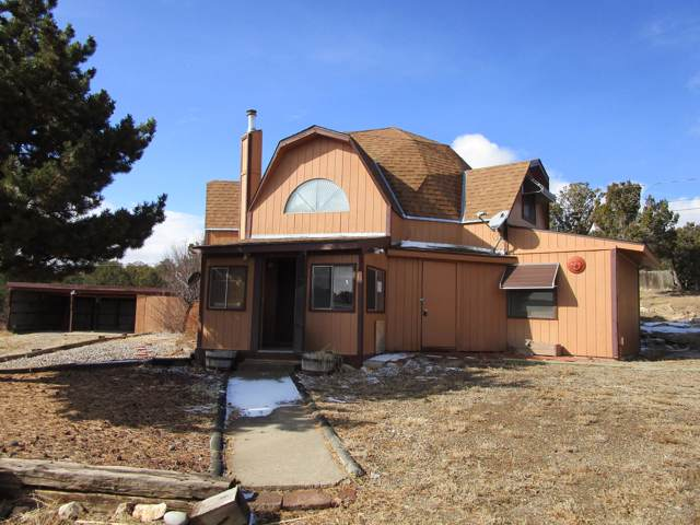 28 Juniper Hills, Edgewood, NM 87015 (MLS #960347) :: Campbell & Campbell Real Estate Services