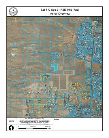 Off Pajarito (Sr X 4) SW, Albuquerque, NM 87105 (MLS #960390) :: Campbell & Campbell Real Estate Services