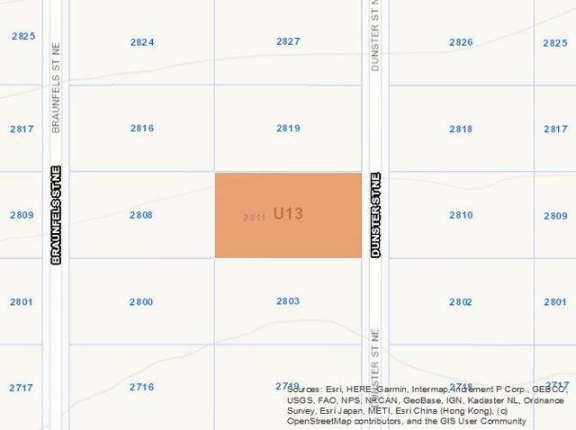 2811 Dunster (U13b8l22) Street NE, Rio Rancho, NM 87144 (MLS #960585) :: Campbell & Campbell Real Estate Services