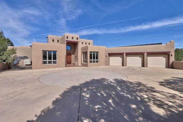 27 Pinon Ridge Road, Tijeras, NM 87059 (MLS #960746) :: Campbell & Campbell Real Estate Services