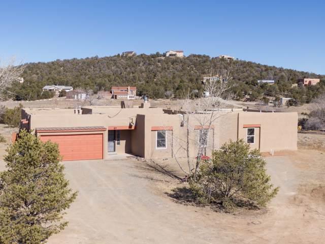 57 Dinkle Road, Edgewood, NM 87015 (MLS #961313) :: Silesha & Company