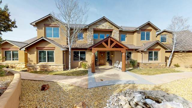 67 Nature Pointe Drive, Tijeras, NM 87059 (MLS #961808) :: The Buchman Group