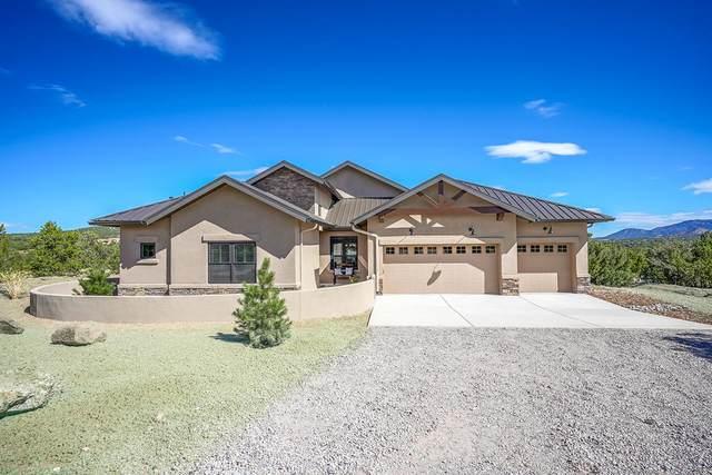 3 Hania Kachina Court, Sandia Park, NM 87047 (MLS #961898) :: The Buchman Group