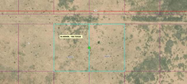 Rio Grande Estates Lot 4 & 5, Socorro, NM 87801 (MLS #961925) :: Campbell & Campbell Real Estate Services