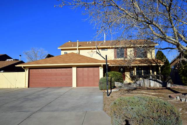 10417 La Paz Drive NW, Albuquerque, NM 87114 (MLS #961959) :: The Bigelow Team / Red Fox Realty