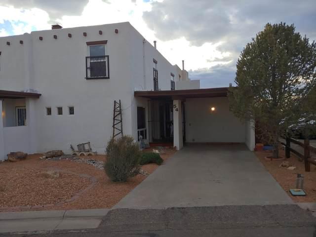 54 Calle Monte Aplanado NW, Albuquerque, NM 87120 (MLS #962589) :: Silesha & Company