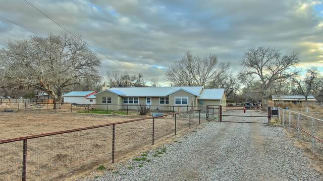 158 Meadowlark Lane, Corrales, NM 87048 (MLS #962896) :: The Buchman Group