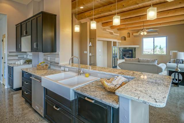 8 Petroglyph Place, Placitas, NM 87043 (MLS #962972) :: The Buchman Group
