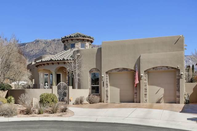 8220 Desert Aster Lane NE, Albuquerque, NM 87122 (MLS #963298) :: The Bigelow Team / Red Fox Realty