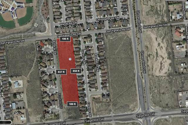 Sage Road SW, Albuquerque, NM 87121 (MLS #963326) :: The Bigelow Team / Red Fox Realty