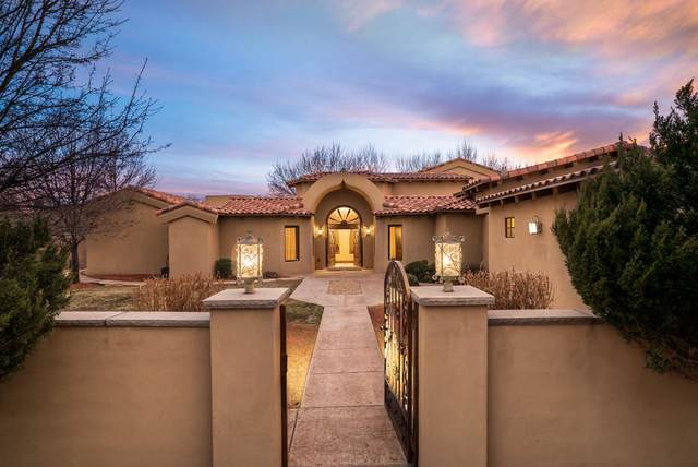 1804 Westdale Way NW, Albuquerque, NM 87114 (MLS #963728) :: The Buchman Group