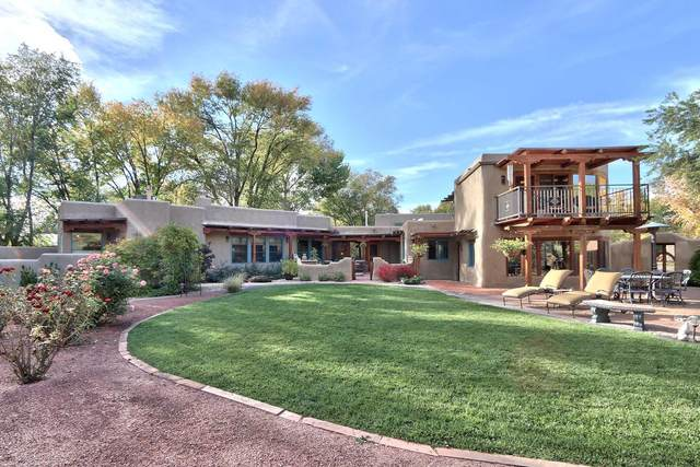 139 Alamos Road, Corrales, NM 87048 (MLS #963795) :: Campbell & Campbell Real Estate Services