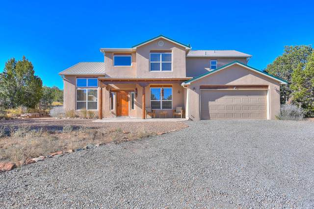 59 Kiva Place, Sandia Park, NM 87047 (MLS #964761) :: Campbell & Campbell Real Estate Services