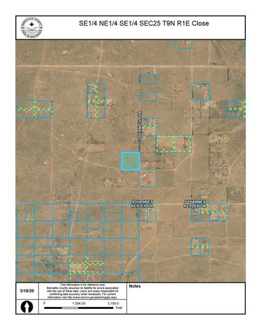Off Pajarito (Key) SW, Albuquerque, NM 87121 (MLS #964843) :: The Buchman Group