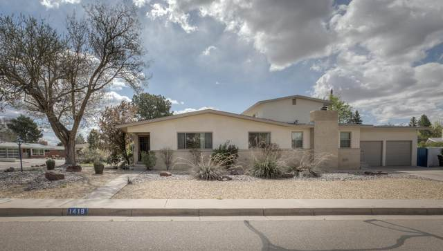 1419 Cornell Drive NE, Albuquerque, NM 87106 (MLS #965551) :: Campbell & Campbell Real Estate Services