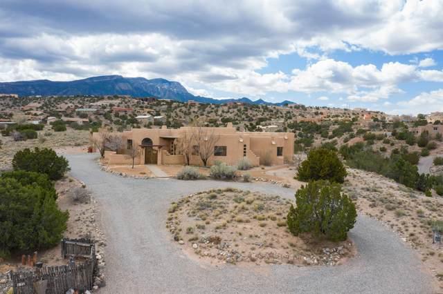 4 Calle Cienega Court, Placitas, NM 87043 (MLS #965616) :: The Buchman Group