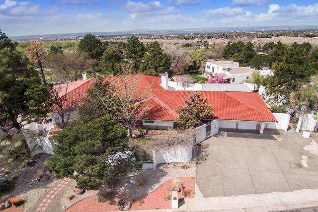 1305 Stagecoach Lane SE, Albuquerque, NM 87123 (MLS #965706) :: The Bigelow Team / Red Fox Realty