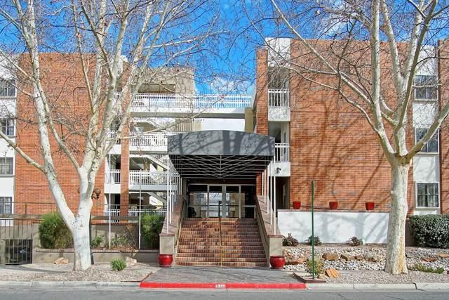 1325 Park Avenue SW #211, Albuquerque, NM 87102 (MLS #965749) :: The Buchman Group