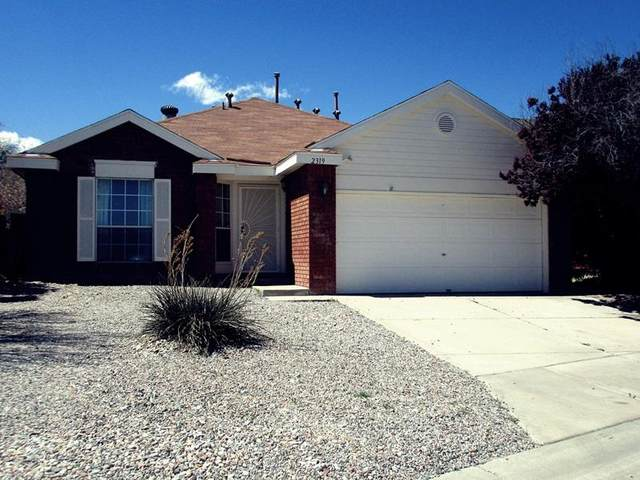 2319 Brookstone Drive NW, Albuquerque, NM 87120 (MLS #965807) :: Campbell & Campbell Real Estate Services