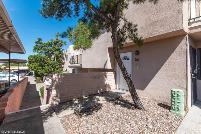 3501 Juan Tabo Boulevard NE Unit D4, Albuquerque, NM 87111 (MLS #966044) :: The Buchman Group