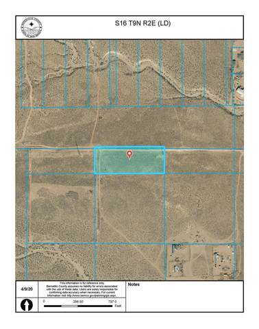 Off Pajarito (Ld) Road SW, Albuquerque, NM 87121 (MLS #966187) :: The Buchman Group