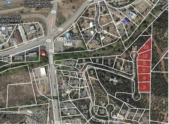 2-12 Mcatee Pl (6 Lots), Tijeras, NM 87059 (MLS #966691) :: The Bigelow Team / Red Fox Realty