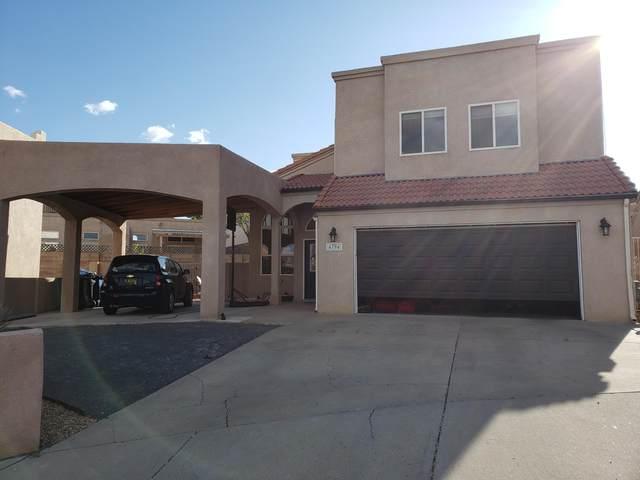 4704 Apollo Court NW, Albuquerque, NM 87120 (MLS #966912) :: The Buchman Group