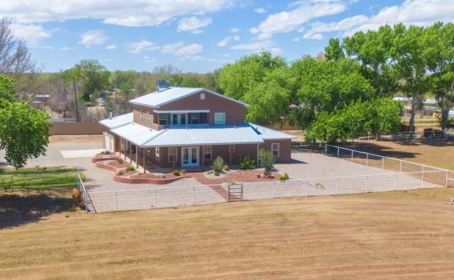 2560 Green Drive, Bosque Farms, NM 87068 (MLS #967010) :: The Buchman Group