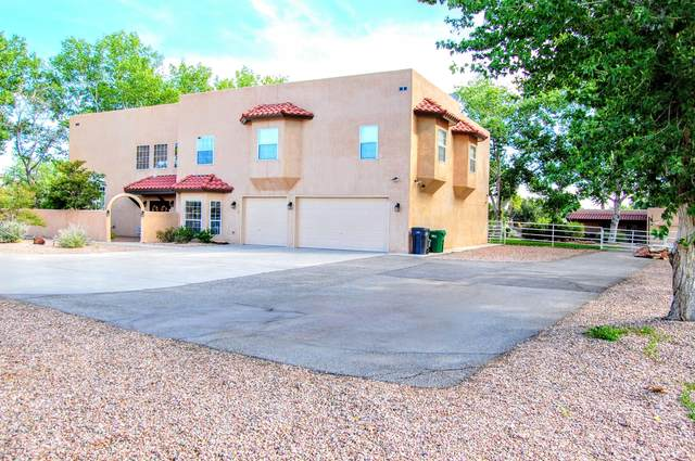 1614 Lyria Road NW, Albuquerque, NM 87114 (MLS #967394) :: The Buchman Group