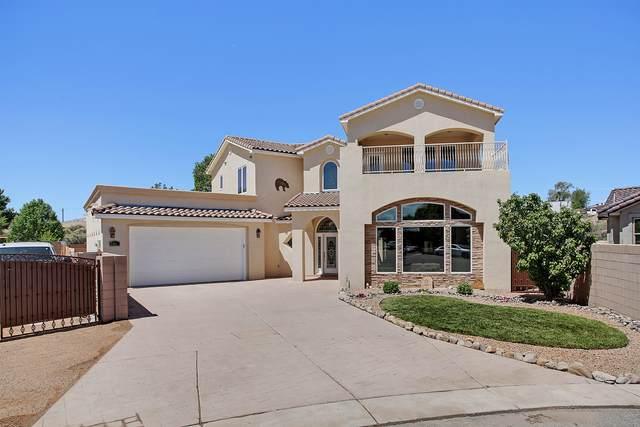 3512 Bareback Place SW, Albuquerque, NM 87105 (MLS #968361) :: The Buchman Group