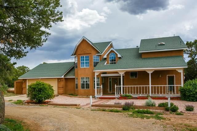8 Oakmont Ridge Road, Sandia Park, NM 87047 (MLS #968615) :: The Buchman Group