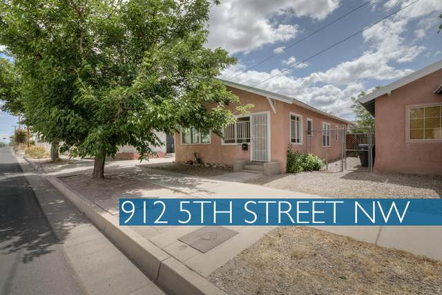 912 5th Street NW, Albuquerque, NM 87102 (MLS #969042) :: The Buchman Group