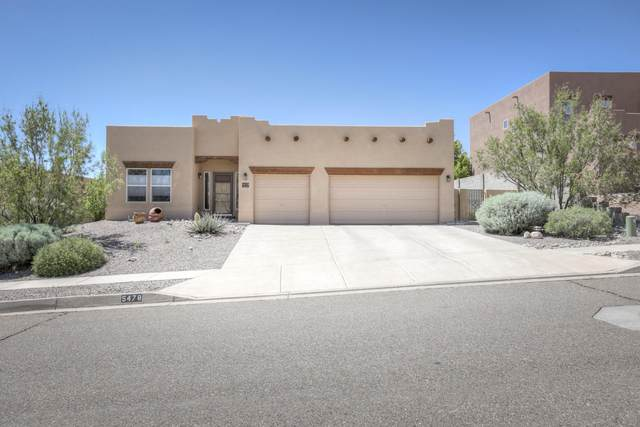 5478 Roosevelt Loop NE, Rio Rancho, NM 87144 (MLS #969212) :: The Buchman Group