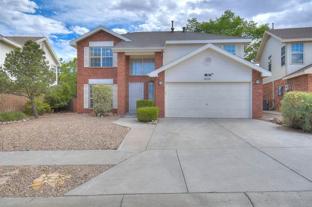 8016 Sheffield Place NW, Albuquerque, NM 87120 (MLS #969221) :: The Buchman Group