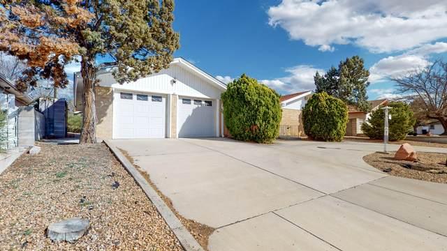 2812 Chama Street NE, Albuquerque, NM 87110 (MLS #969328) :: The Buchman Group