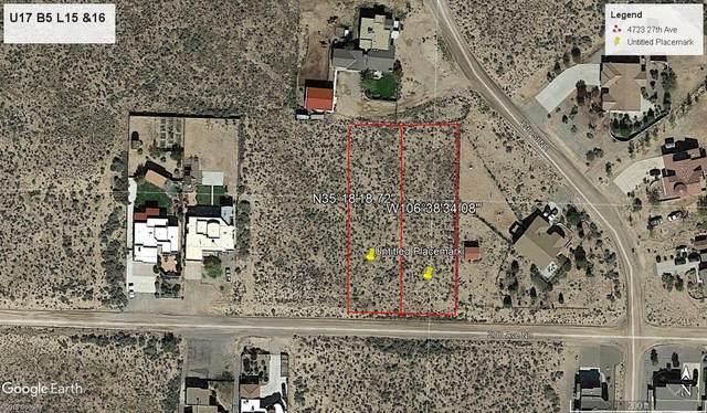 4621 27th Ave (U17b5l15) NE, Rio Rancho, NM 87144 (MLS #969423) :: The Buchman Group