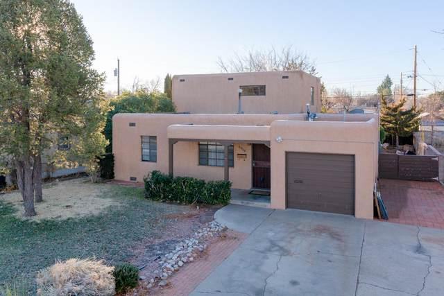 4908 Burton Avenue SE, Albuquerque, NM 87108 (MLS #969470) :: The Buchman Group