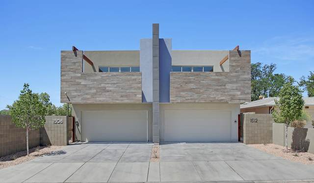 1512 San Patricio Avenue SW, Albuquerque, NM 87104 (MLS #969486) :: The Buchman Group