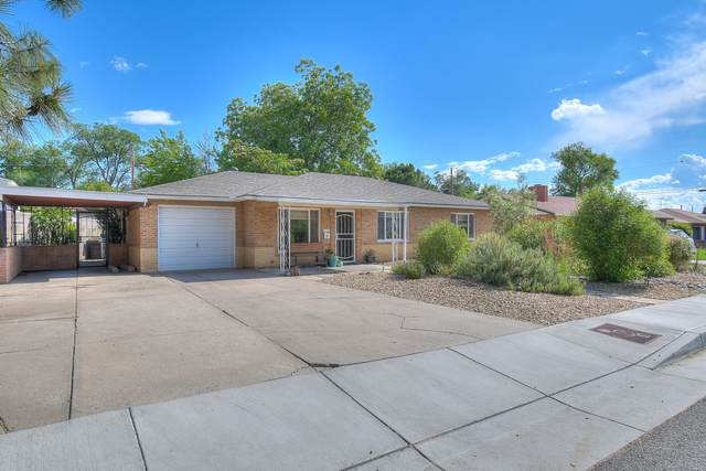 7722 Euclid Avenue NE, Albuquerque, NM 87110 (MLS #969522) :: The Buchman Group