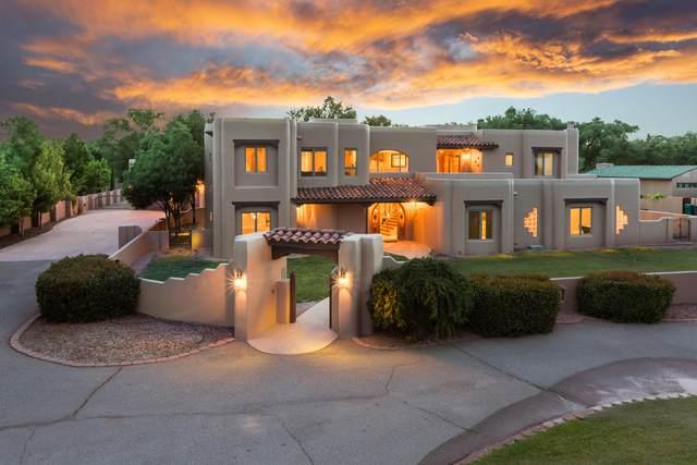 4682 Los Poblanos Circle NW, Los Ranchos, NM 87107 (MLS #970721) :: The Buchman Group