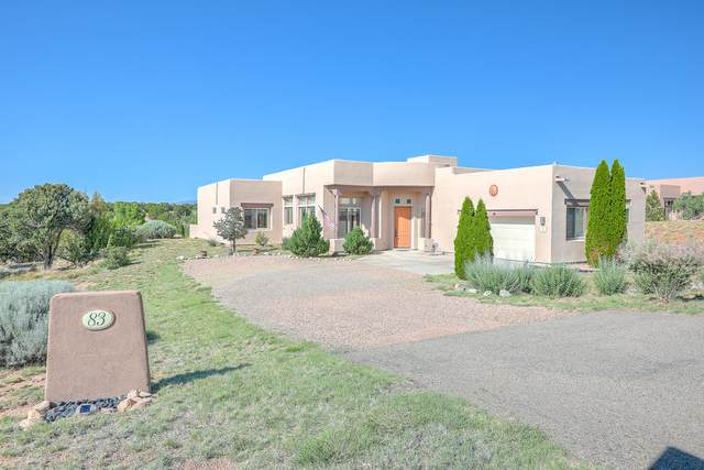 83 E Chili Line Road, Santa Fe, NM 87508 (MLS #970961) :: The Bigelow Team / Red Fox Realty