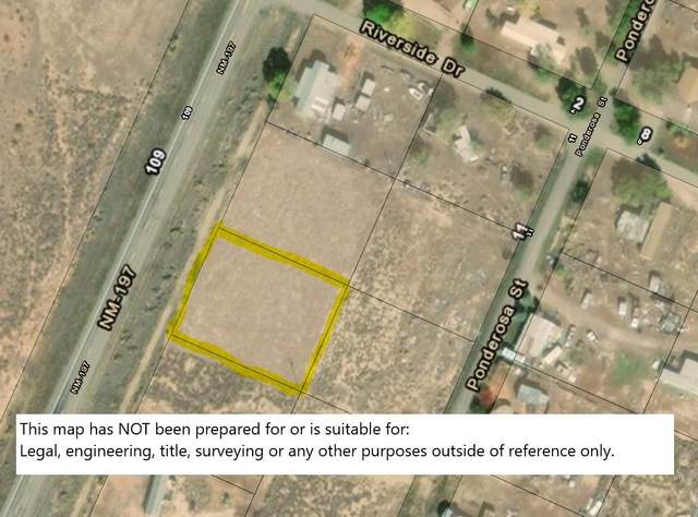 Lot 7 Rio Puerco Estates Nm Hwy 197, Cuba, NM 87013 (MLS #971301) :: The Bigelow Team / Red Fox Realty