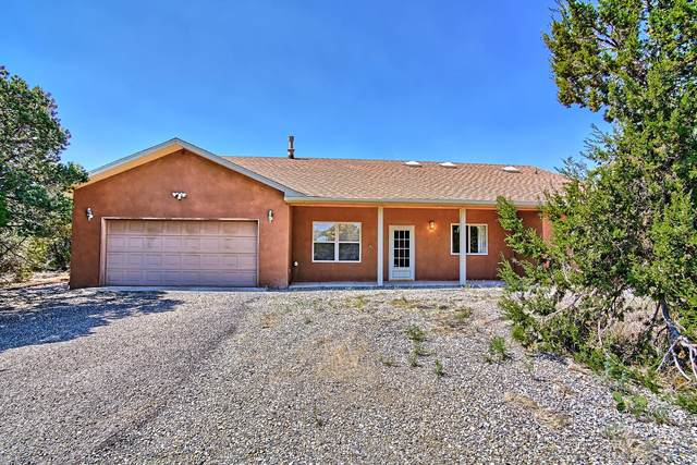45 Calle Del Pinon Road, Sandia Park, NM 87047 (MLS #971331) :: Campbell & Campbell Real Estate Services