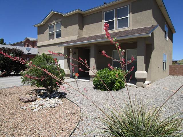 9916 Ashland Street NW, Albuquerque, NM 87114 (MLS #971661) :: The Bigelow Team / Red Fox Realty